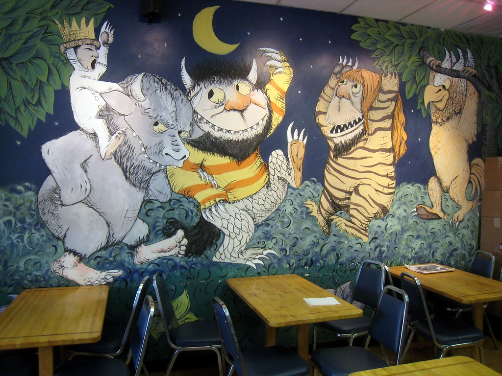 3d House Wallpaper Room Where The Wild Things Are The Wild Things Are At A