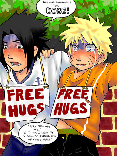 Wallpaper 3d Naruto Free Hugs I Feel Scared For Them Lol Angelica Flickr