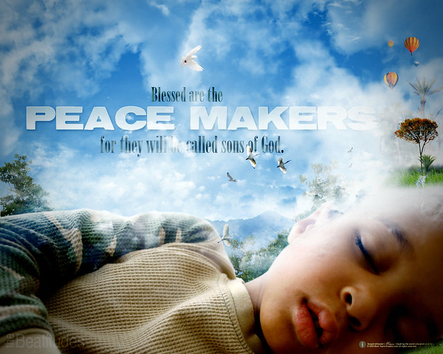 3d Wallpaper Maker Blessed Are The Peace Maker Beatitudes 7 169 Inspiks