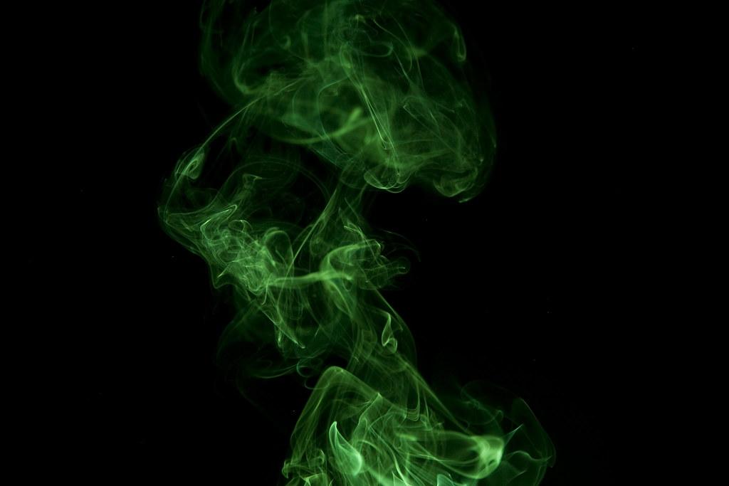 Marijuana Animated Wallpaper Green Smoke Smoke On Black Background Jordan