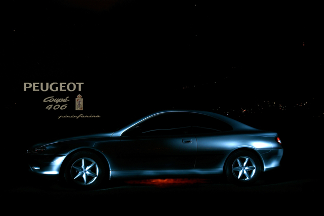 New 3d Wallpaper For Mobile Peugeot 406 Coup 233 Long Exposure Manual Illumination