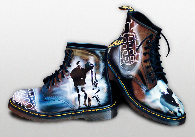Custom Dr Martens Sandals Airwair These Boots Were