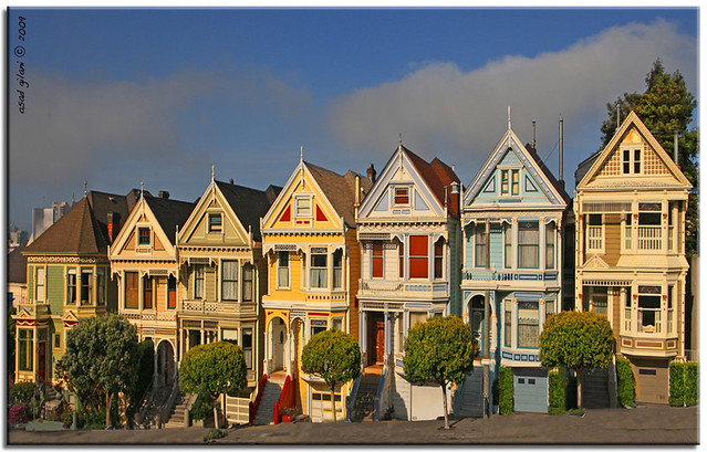 3d Name Wallpapers R Painted Ladies Alamo Square San Francisco Explored May