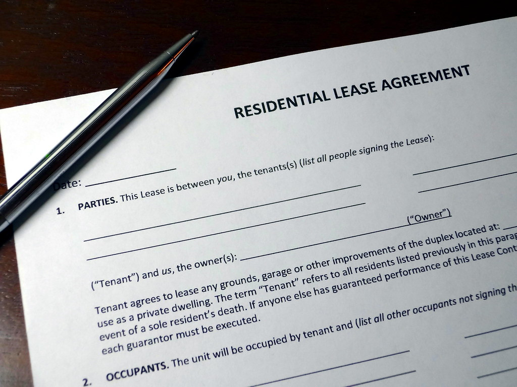 simple apartment lease