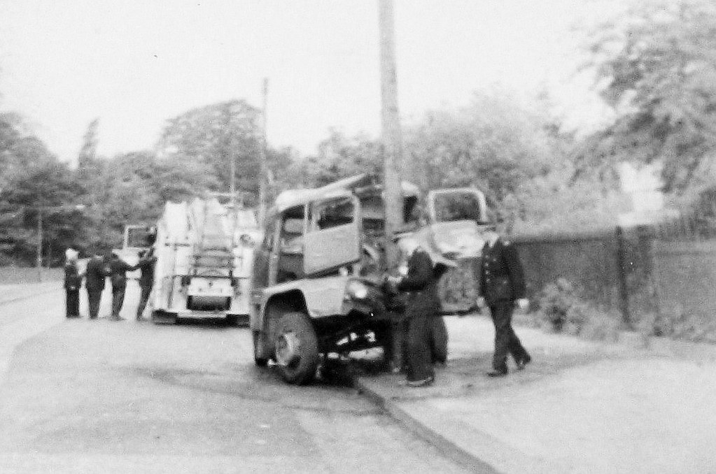 Police Car Wallpaper Hd Lorry Accident In Glasgow Scotland 1960 S This Was A