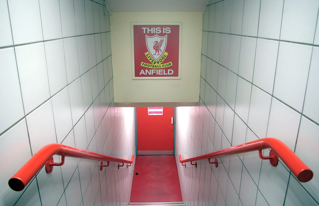3d Tunnel Wallpaper This Is Anfield Graham Walton Flickr