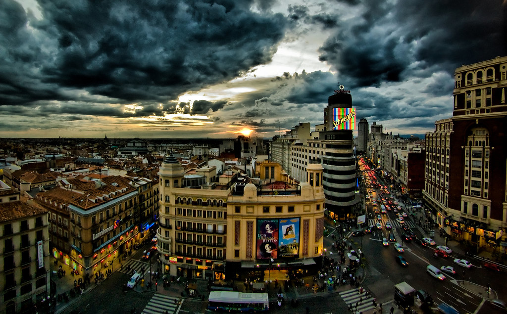 Spain Wallpaper Iphone Madrid Hdr Canon Eos 450d Peleng 8mm 3 5 Fisheye Hdr