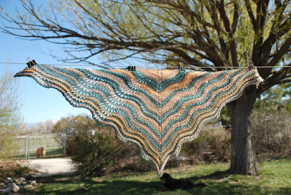 Dsc 0161 Feather And Fan Comfort Shawl Mini Handspun