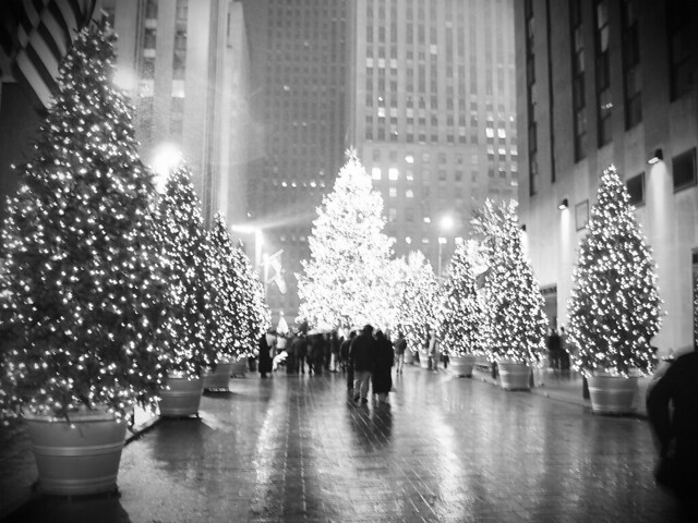World Map Wallpaper Black And White Quot Rockefeller Plaza Christmas Tree 2 Quot New York City