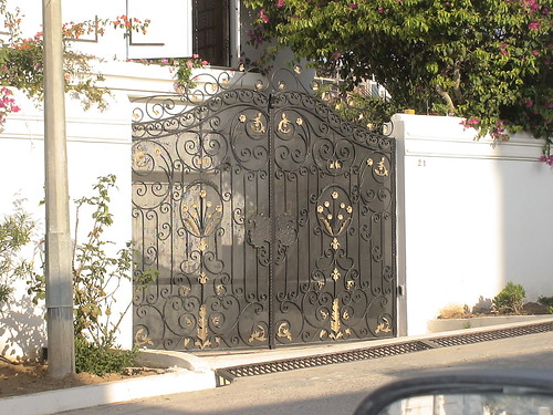 Porte Moderne Porte Extérieure En Fer Forgé, Tunis | Flickr - Photo Sharing!