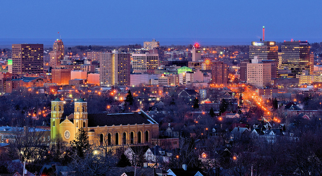 New York City At Night Hd Wallpapers Syracuse Skyline Syracuse New York David Darling Flickr