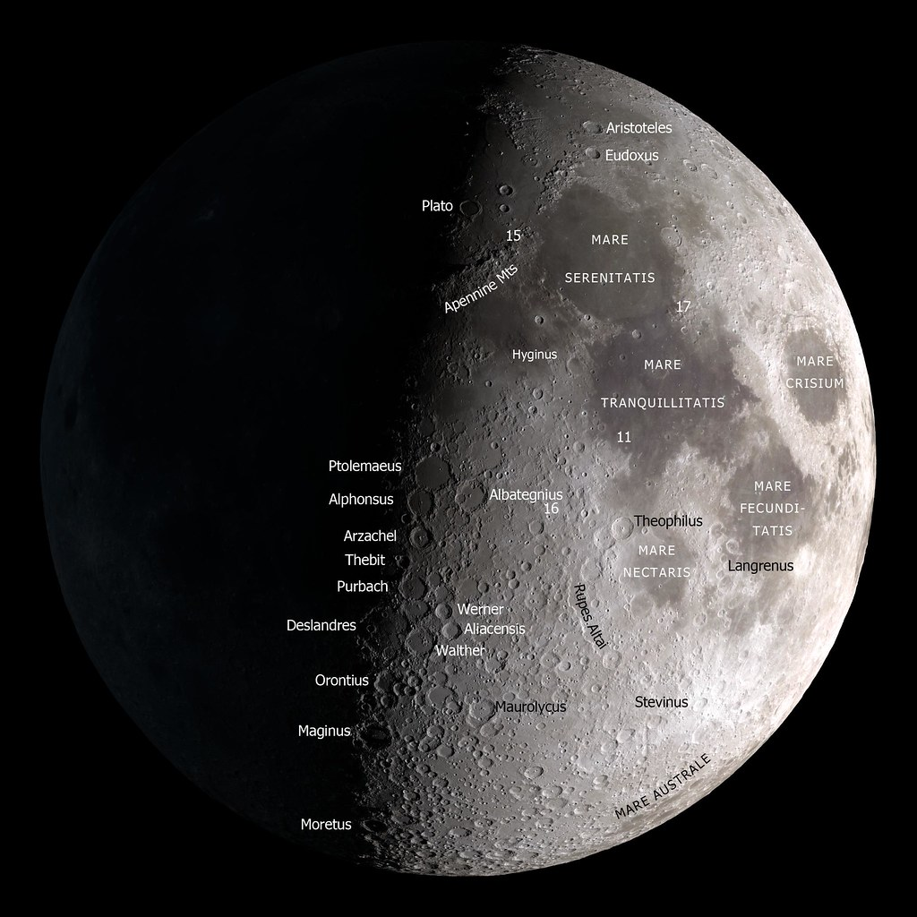 Earth And Moon 3d Wallpaper Moon Map A Map Of The Moon On A Black Background For