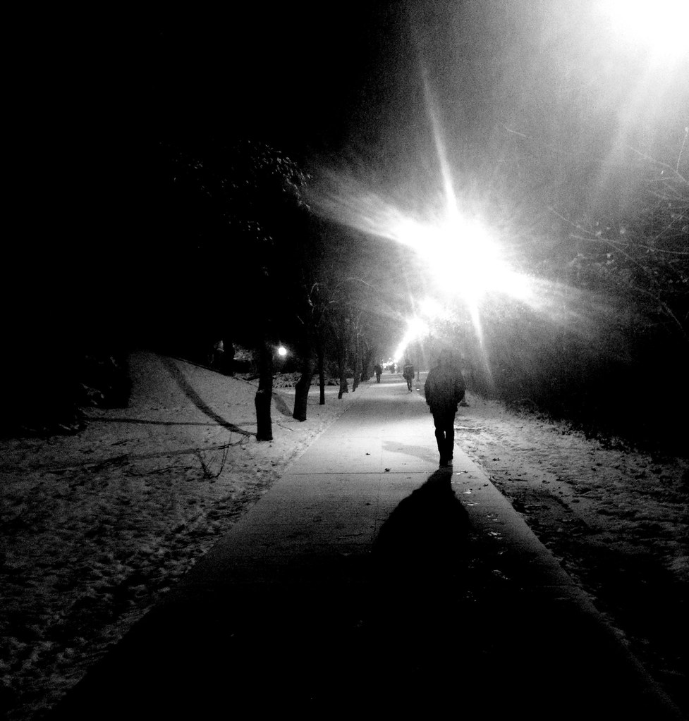 Lonely Girl Walking Wallpaper Walking Alone On A Cold Dark Night Nicole6hall Flickr