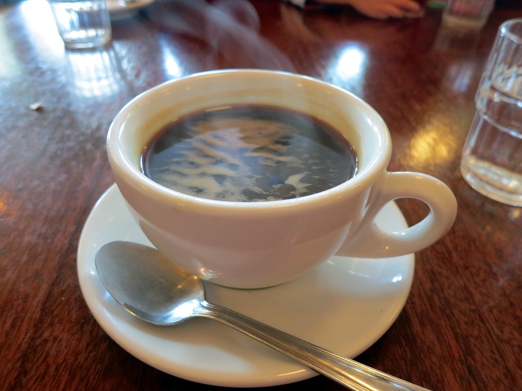 Americano Coffee English Coffee At Pronto Ruth Hartnup Flickr