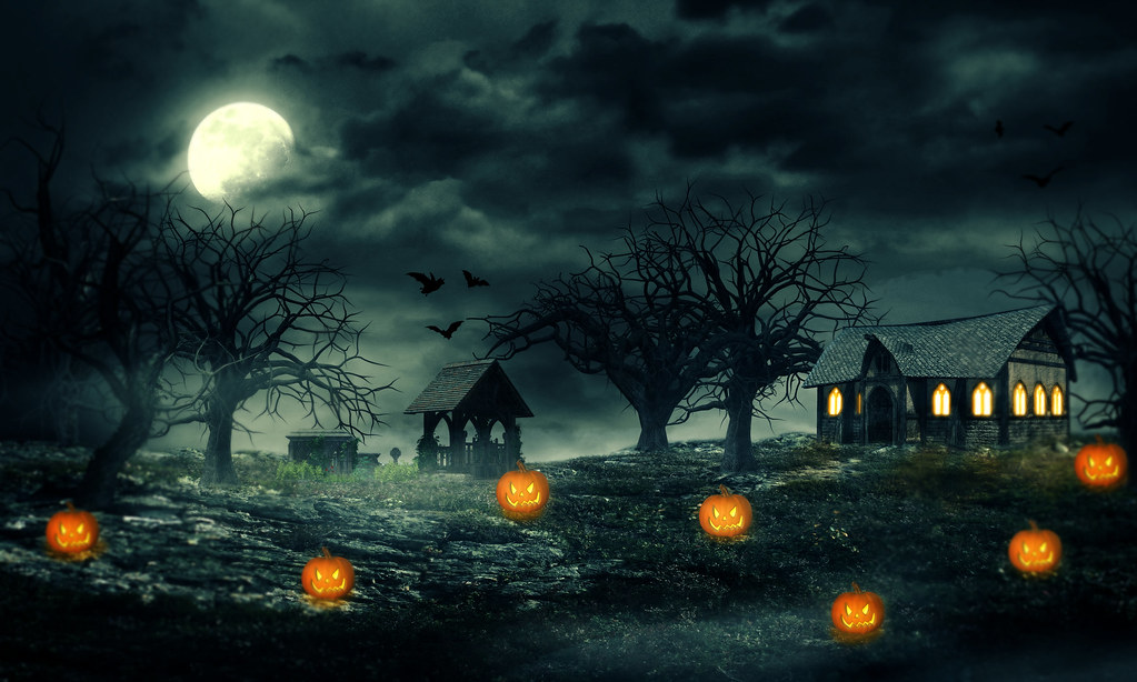 3d Wallpaper Ideas All Hallow S Eve Based On Tutorial With Thanks For The