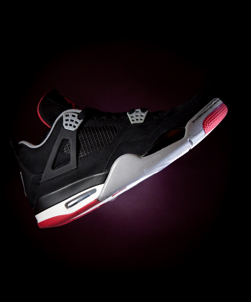 Wallpaper Hd 3d Black And White Jordan Bred 4 D Pham Flickr