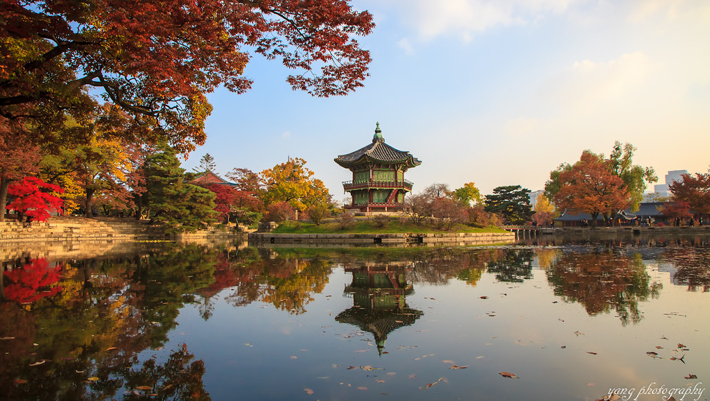 Wallpaper Korea 3d South Korean Royal Palace Gyeongbokgung In Autumn Flickr