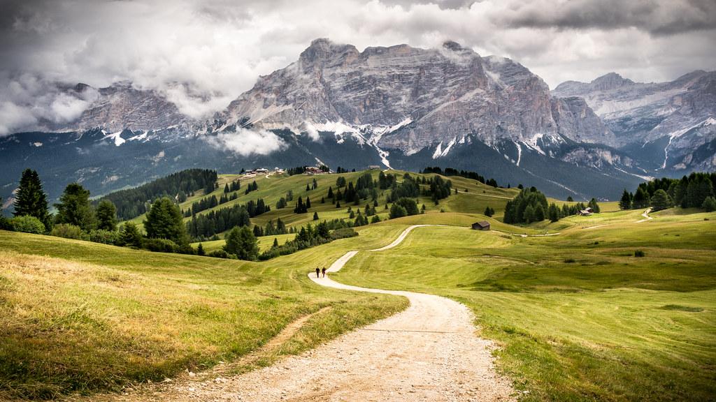 Wallpaper Windows 10 3d Alta Badia Trentino Alto Adige Italy Landscape Photog