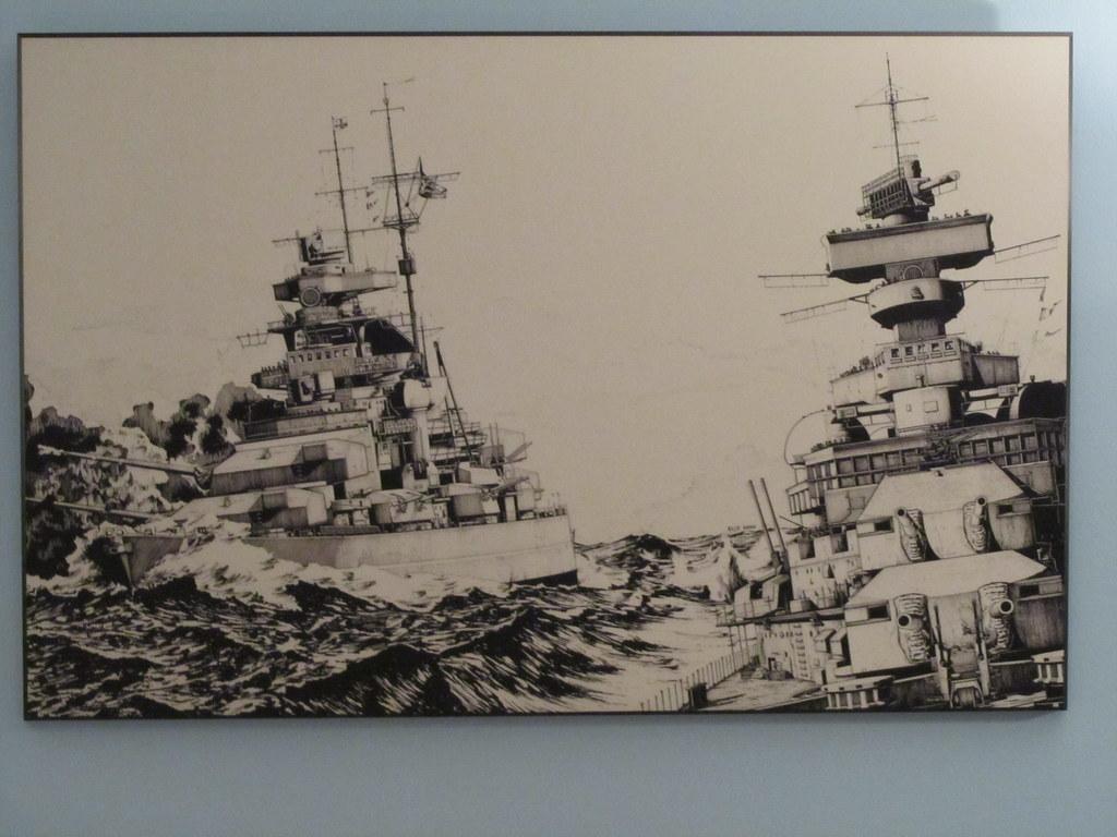 N 3d Wallpaper Bismarck From Prinz Eugen By Elio Ando G Erewhon Flickr