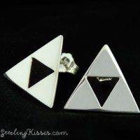 Triforce earrings. Only one pair left in stock! #zelda #tr ...