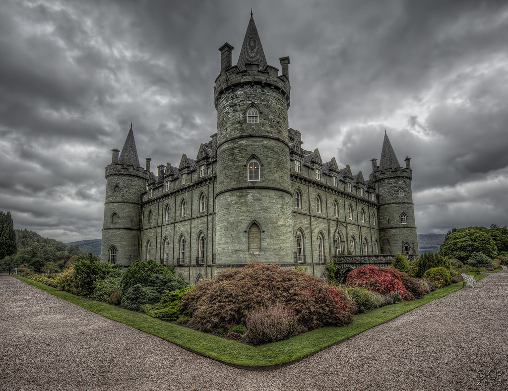 3d Stone Style Wallpaper Inveraray Castle As The Official Website Says An