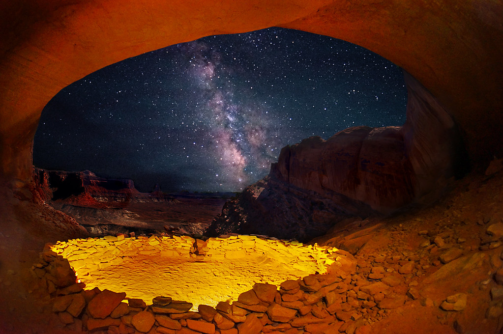 3d Picture Wallpaper The False Kiva Light Painting The False Kiva In