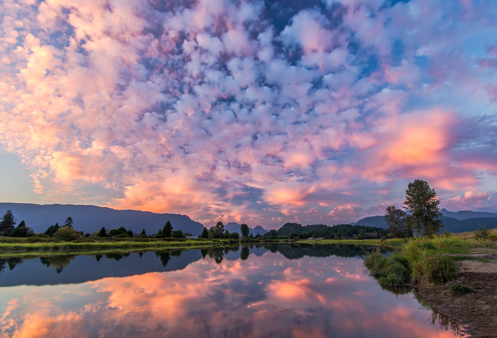 3d Wallpaper Making Software Free Download Pink Sky Reflection Follow Me On Twitter Like On