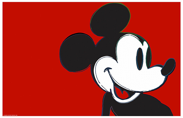 White Iphone 5 Wallpaper Hd Arte Andy Warhol Mickey Mouse I Want A Poster Flickr