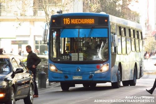 Transantiago - Inversiones Alsacia - Caio Mondego H / Agrale (BJFV60)