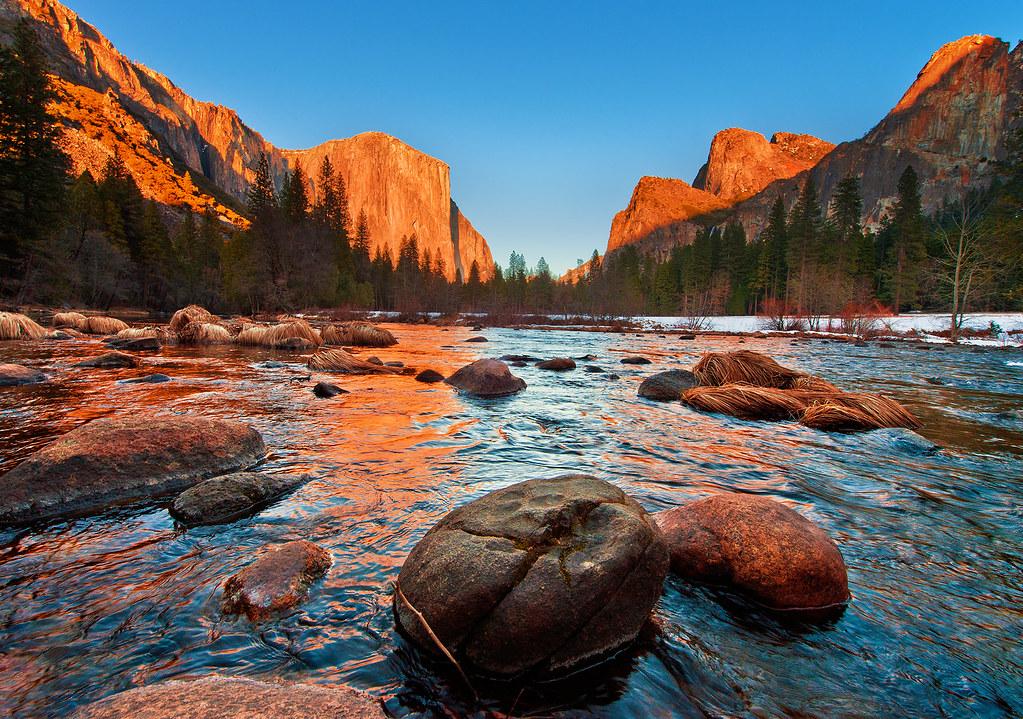 Yosemite Falls Wallpaper Yosemite National Park Valley View Sunset I Shot This