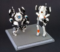 Atlas & P-Body | It's about time I finished these two. :D ...