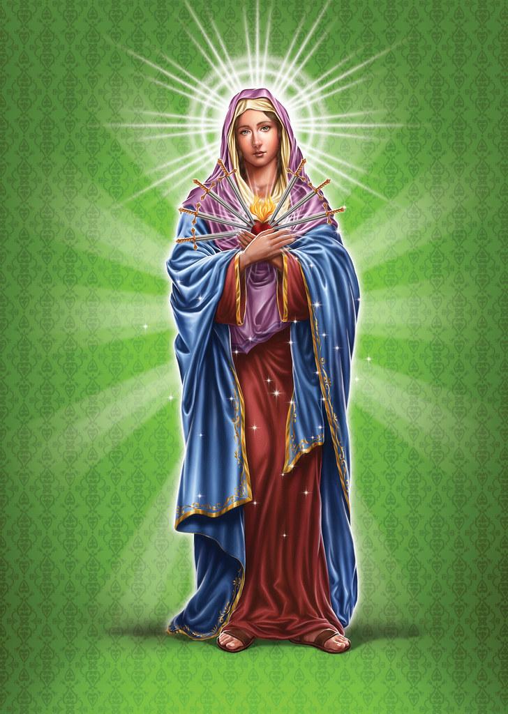 3d Wallpaper Pinterest Nossa Senhora Das Dores Salmos Amp Anjos 175 Elias De