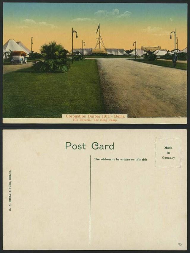 City Monuments – H.A. Mirza & Sons Postcards, Muslim Delhi
