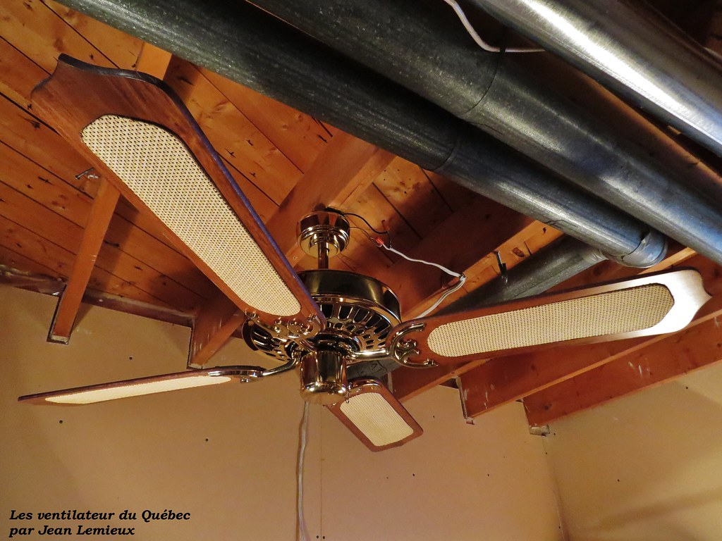 Wooden Electric Fan Sanyo 132 Cm Ceiling Fan Early To Mid 1980 39s Sanyo