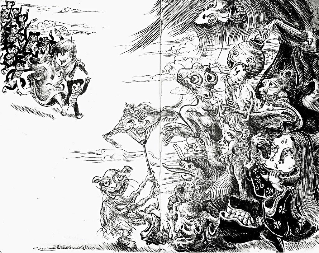 New 3d Wallpaper 1920x1080 My Monkey Army Xd Illustration Sketch Army Drawing Ar