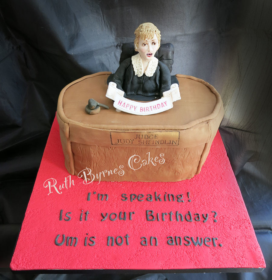 Birthday Cake Uncle Judge-judy-cake | Judge Judy Birthday Cake For My Uncle