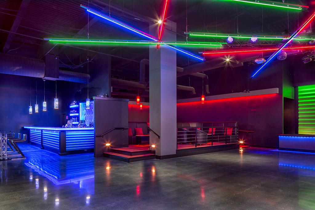 Girl Bar Wallpaper Red Neon Shadeh Nightclub Design Custom Lighting Design The
