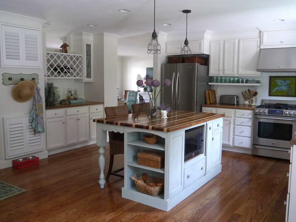 Alter Dielenboden Küche Cottage Kitchen Remodel Dated Ranch Home Kitchen Remodel