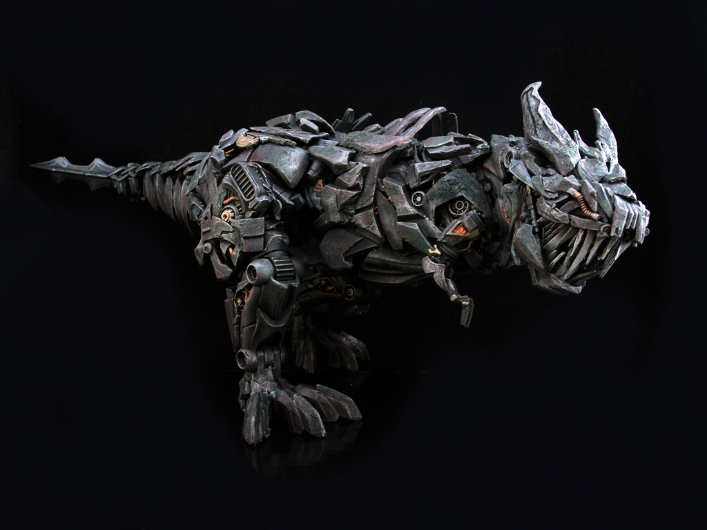 Skeleton Head Wallpaper 3d Aoe Grimlock This Is A Non Transforming Leader Class