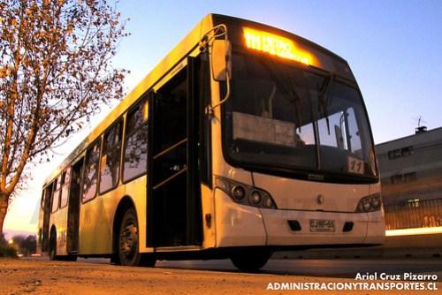 Transantiago - Inversiones Alsacia - Caio Mondego L / Volvo (CJRF55)