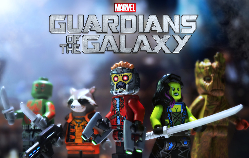 Marvel Super Heroes 3d Wallpaper Lego Guardians Of The Galaxy Preview With Brickfair Va