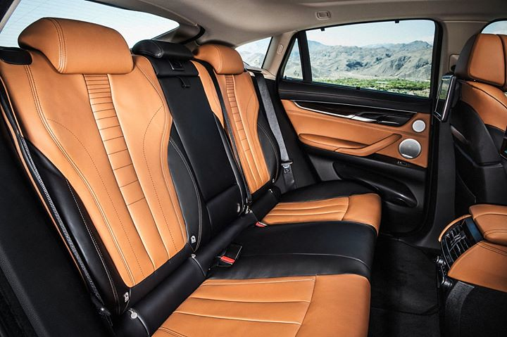 Wohnlandschaft Leder Cognac The New Bmw X6 - Bicolour Leather Nappa With Extended Cont