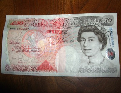 £50 note | Hardly ever deal with these.. This is the last of… | Flickr