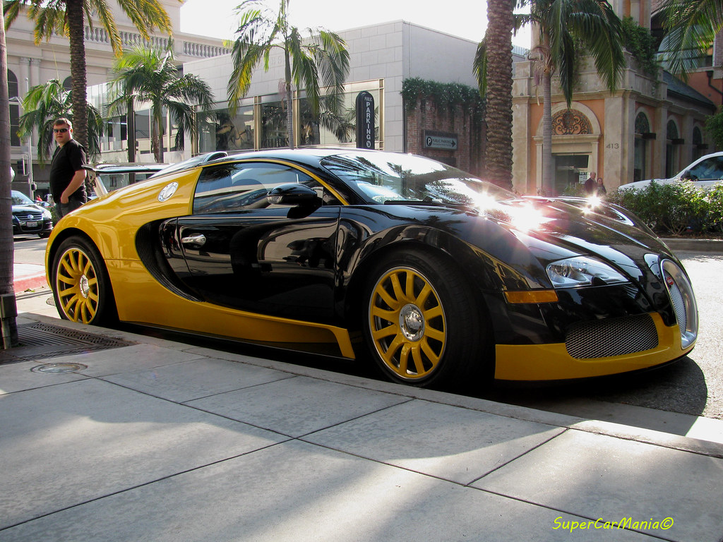 World Map Wallpaper Black And White Black And Yellow Bugatti Veyron Beverly Hills Los