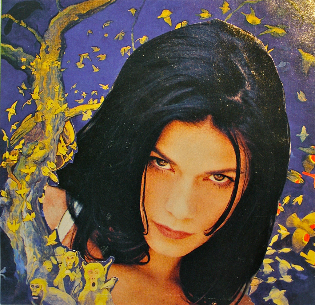 Free Wallpaper 3d Hd Linda Fiorentino Combined With A Painting By Martin