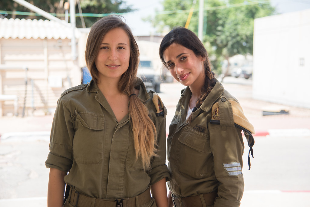 Women Of The Idf Being A Field Observer Means Having
