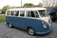 Full length VW Bus roof rack | a picture of a full length ...