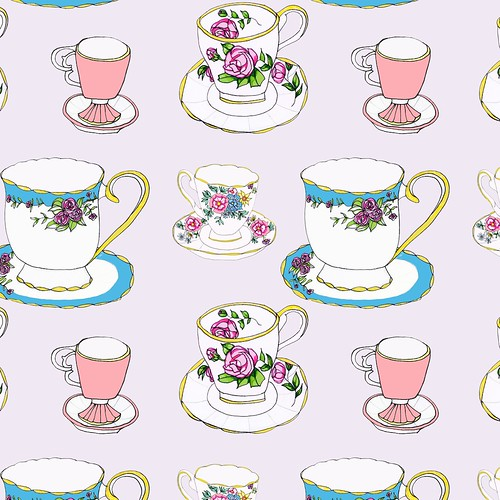 Cute Heart Images For Wallpaper Vintage Teacup Pattern Flickr Photo Sharing