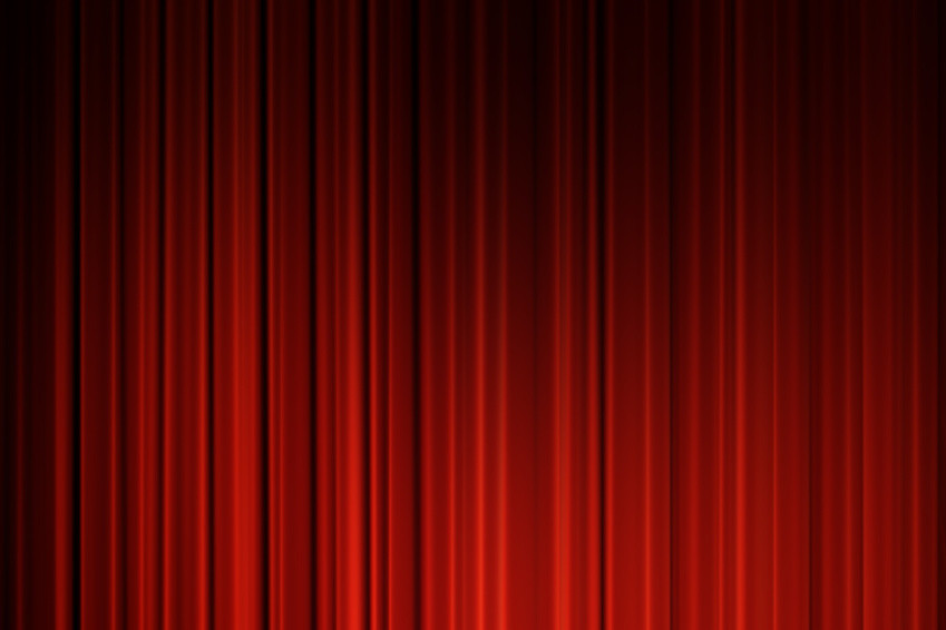 Movie Curtains Red Curtains Background Movie Curtains