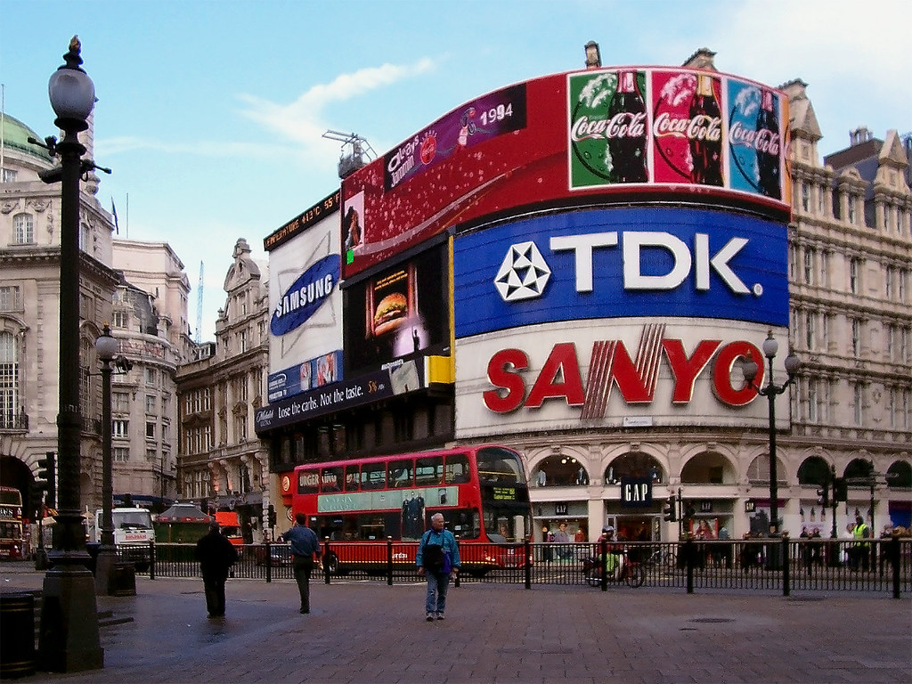 New 3d Wallpaper 1920x1080 Piccadilly Circus Starting My Sightseeing In This Area